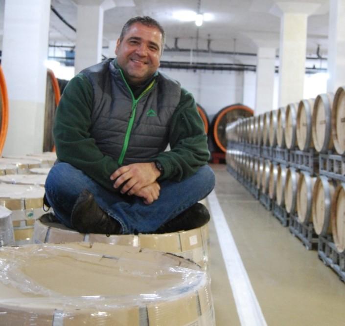 Razvan Macici in Crama Atelier (septembrie 2013)
