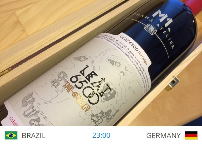 8 iulie brazilia-germania Leat Rosu Magnum