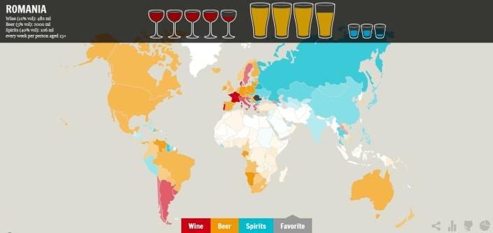 harta consum de vin  sapt