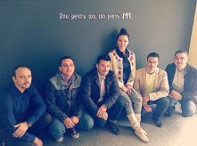 Echipa de vanzari a Cramei Atelier: Narcis Trifu, Marian Bosilca, Marius Ferman, Stefanie Binder, Lucian Anghel si Iulian Nae.